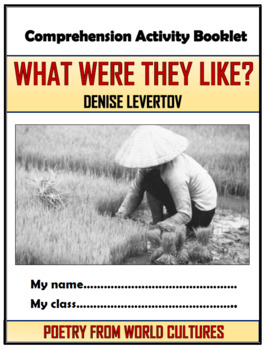 What Were They Like? Comprehension Activities Booklet!