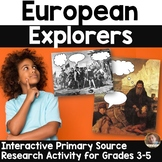 What Were They Thinking? A European Explorers Research Activity for Grades 3-6
