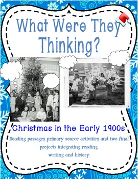 What Were They Thinking? Christmas in the Early 1900s {SS