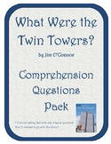 What Were the Twin Towers?  Comprehension Questions