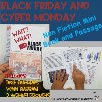 What? What! Black Friday & Cyber Monday Informational Mini Book