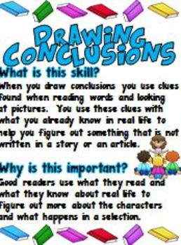 DRAWING CONCLUSIONS FREEBIE - TeachersPayTeachers.com | The ...