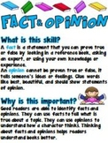 What & Why- Fact & Opinion Poster