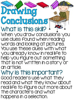 What & Why- Reading Skills Posters BUNDLE!!