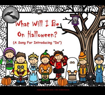 "What Will I Be On Halloween? - Presenting ""Do"" - (PPT Edition)"