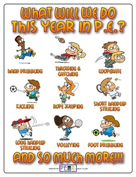 What Will We Do This Year In P.E.? Poster