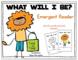 What Will I Be? {Halloween} Emergent Reader Kindergarten and First Grade