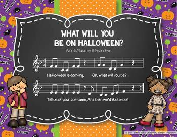 What Will You Be on Halloween? An Original Holiday Song