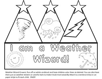 Weather Unit: What Will the Weather Be? for first Grade