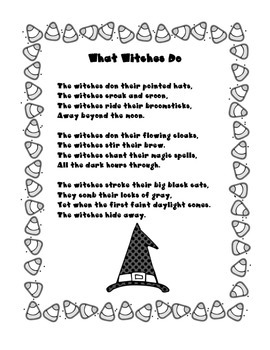 What Witches Do Poem
