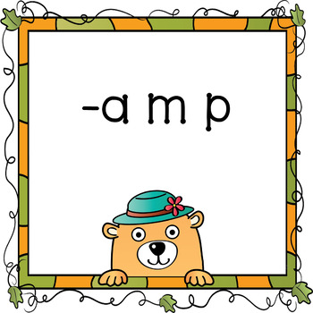 Autumn What Word Short A Phonograms Sound Cards Reading Phonics No Prep