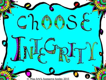 Class Decoration - What Would You Choose? Sample