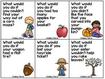 What Would You Do If: A Perspective Taking Activity (Fall Edition)