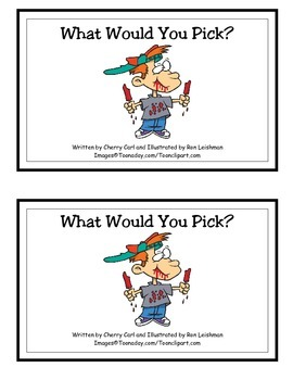 What Would You Pick? Guided Reader (-ould and -ick families)