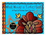 What Would a Turkey Do? A Thanksgiving Sort for K - 1