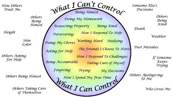 What You Can and Cannot Control