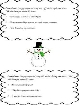 What You Need For A Snowman