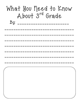 What You Need to Know About 3rd Grade