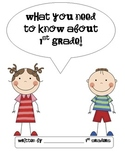 What You Need to Know About {K,1st Grade, or Second Grade}