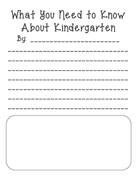 What You Need to Know About Kindergarten