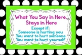 "Polka Dot - What You Say in Here Stays in Here Poster 36""x24"""