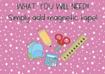 What Your Students Will Need!