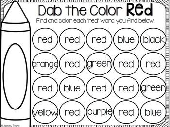 What a COLORful World! {Activities to teach colors}