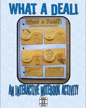 Unit Rates {Interactive Notebooks}
