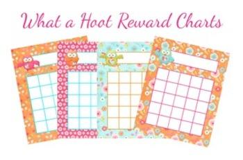 What a Hoot Owl Incentive Reward Charts