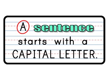 What a Sentence Needs Signs