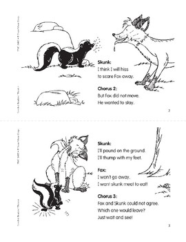 What a Skunk Needs to Do (Leveled Readers' Theater, Grade 2)