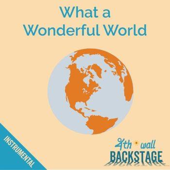 What a Wonderful World - Instrumental Track