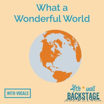 What a Wonderful World - Vocal Track