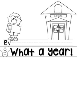 What a Year! A Flip Book Activity