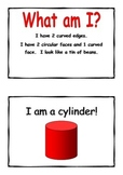 What am I 3D shape riddle