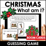 Christmas Vocabulary Guessing Game: Boom Cards - Digital T