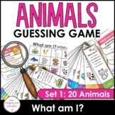 What am I? - Guessing Game for Young Learners : Animals