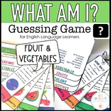What am I? - Guessing Game for Young Learners : Fruit and Vegetables