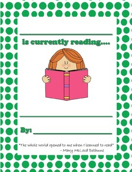 What am I reading? - Teacher Reading Poster