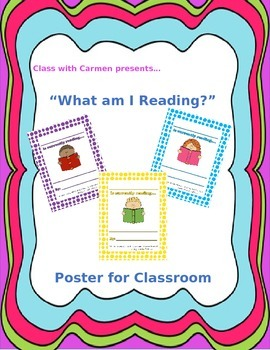 What am I reading? - Teacher Reading Poster