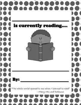 What am I reading? - Teacher Reading Poster FREEBIE