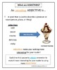 What are ADJECTIVES? 24 Page Resource: Lesson, Practice, & Assessment Included!