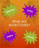 What are ADJECTIVES? 24 Page Resource: Lesson, Practice, &