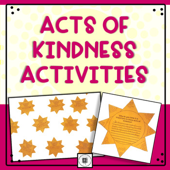 Acts of Kindness Activities