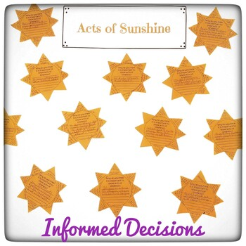 Intentional Acts of Kindness I Acts of Kindness Activities