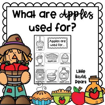 What are Apples Used for? Apple Activity