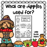What are Apples Used for? :Apple Crafts :September Crafts