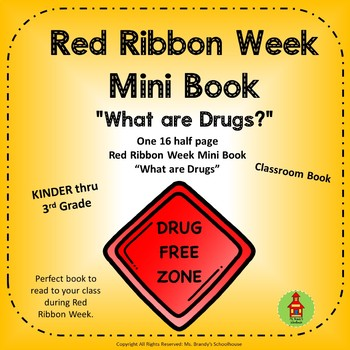 What are Drugs? Mini Book for Red Ribbon Week