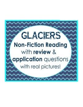 What are GLACIERS? non-fiction reading: review & applicati