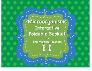 Harmful and Helpful Microorganisms Interactive Foldable Booklet